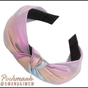 Mermaid Unicorn Metallic Rainbow Headband Option 9